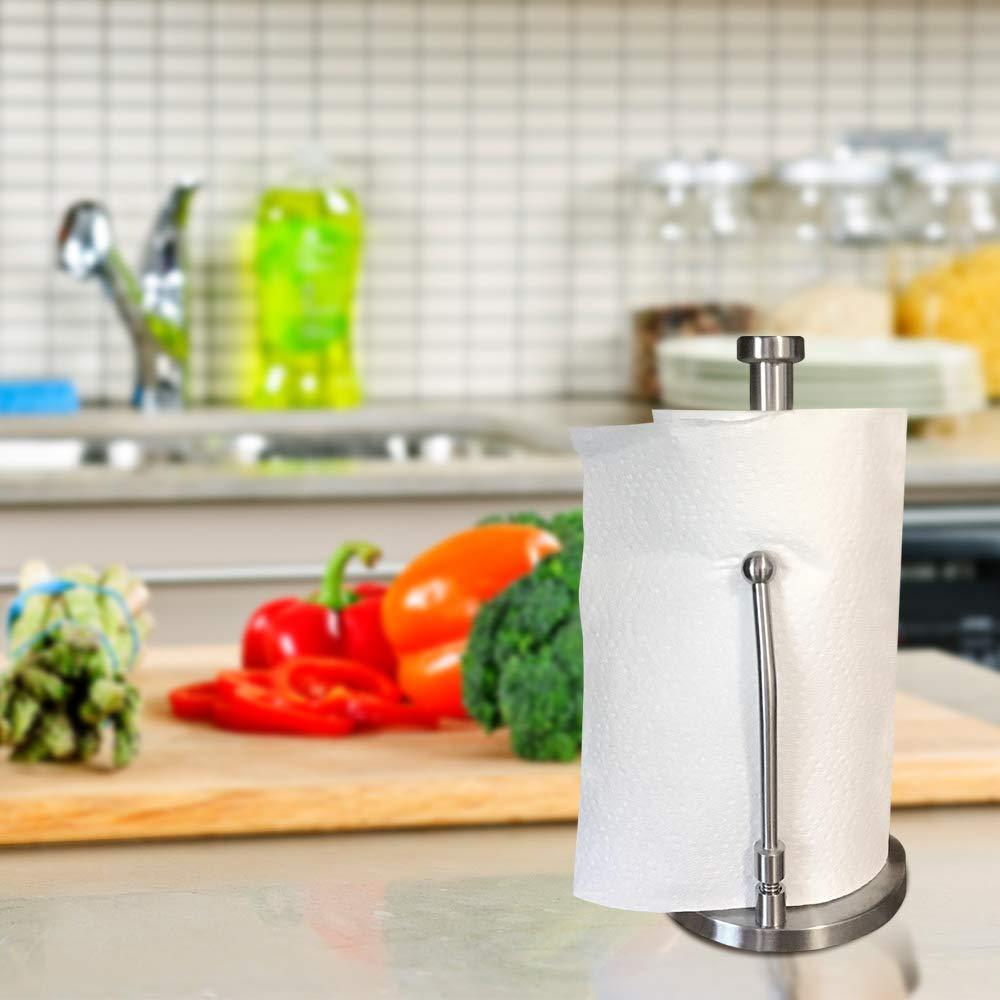 Best Stainless Steel Kitchen Paper Towel Holder Stand